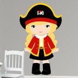 Kinderzimmer Wandtattoo: Kapitän roten 3