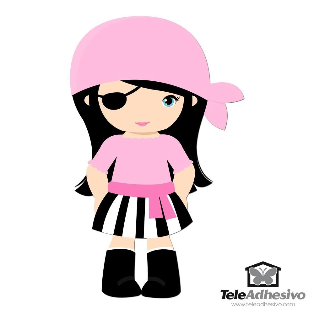Kinderzimmer Wandtattoo: Rosa Grumete