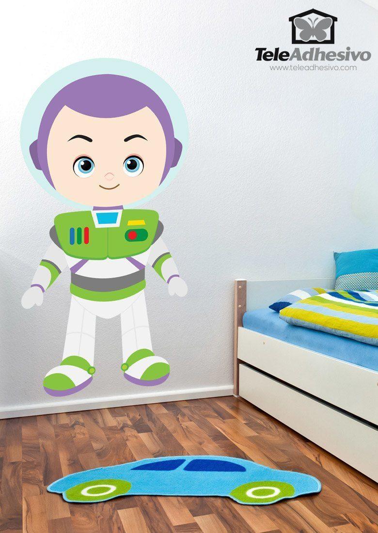 Kinderzimmer Wandtattoo: Buzz Lightyear