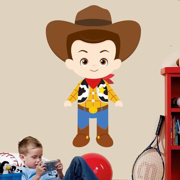 Kinderzimmer Wandtattoo: Sheriff Woody, Toy Story