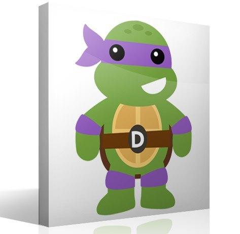 Kinderzimmer Wandtattoo: Ninja Turtle Donatello