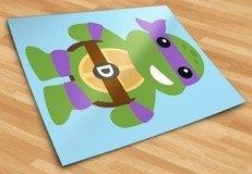Kinderzimmer Wandtattoo: Ninja Turtle Donatello 5