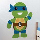 Kinderzimmer Wandtattoo: Ninja Turtle Leonardo 3