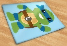 Kinderzimmer Wandtattoo: Ninja Turtle Leonardo 5