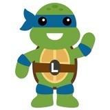 Kinderzimmer Wandtattoo: Ninja Turtle Leonardo 6