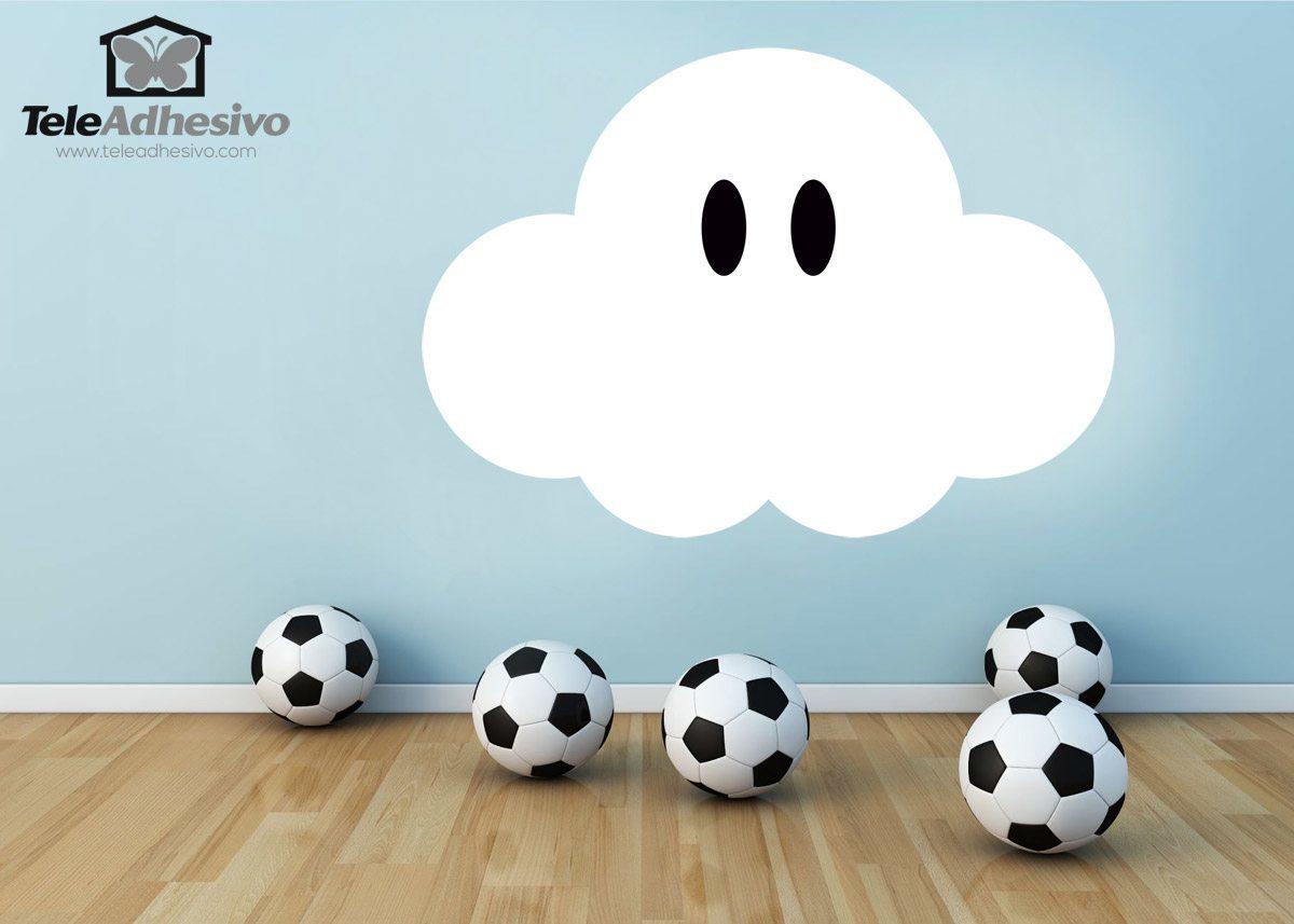 Kinderzimmer Wandtattoo: Super Mario Wolke