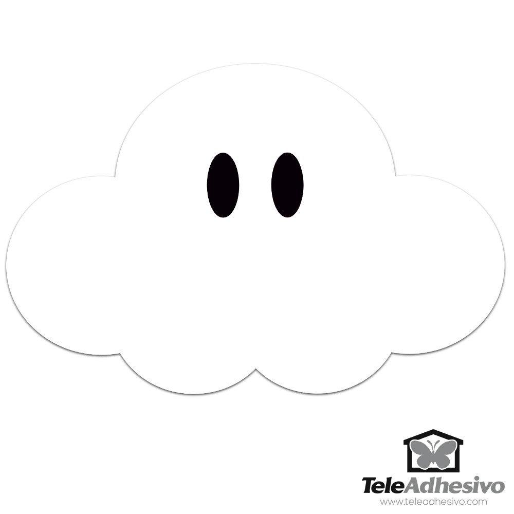 Kinderzimmer Wandtattoo Super Mario Wolke