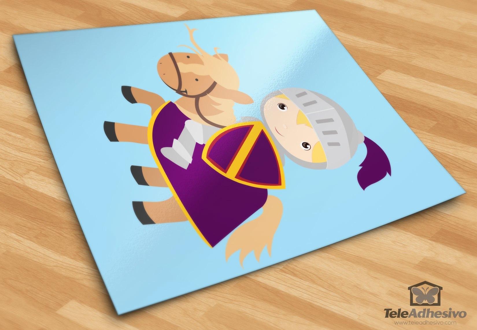 Großartig Wandtattoo Lila Das Beste Von Kinderzimmer Wandtattoo: Ritter