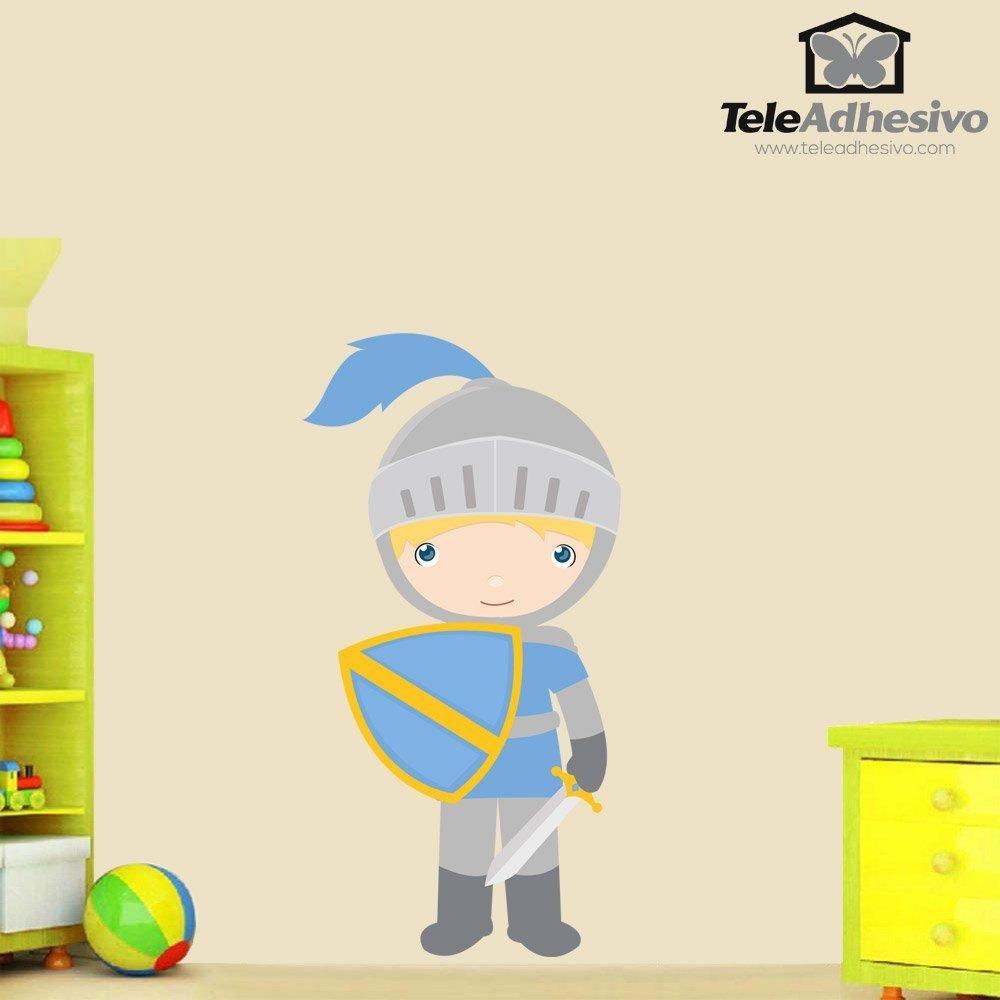 Kinderzimmer wandtattoo blaue ritter - Ritter wandtattoo ...