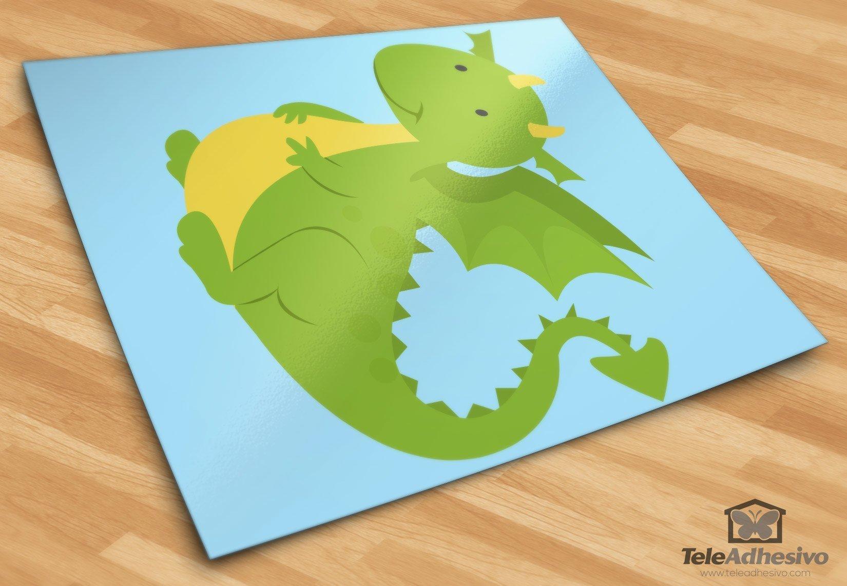 Kinderzimmer Wandtattoo: Drachen