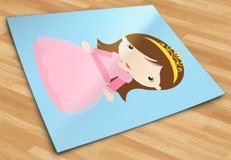 Kinderzimmer Wandtattoo: Princess Chestnut 3