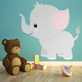 Kinderzimmer Wandtattoo: Elefant Vincent 3