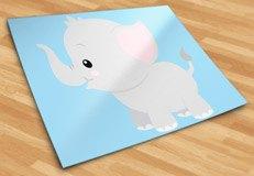 Kinderzimmer Wandtattoo: Elefant Vincent 6