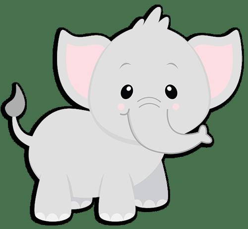 Kinderzimmer Wandtattoo: Elefant Jumbo