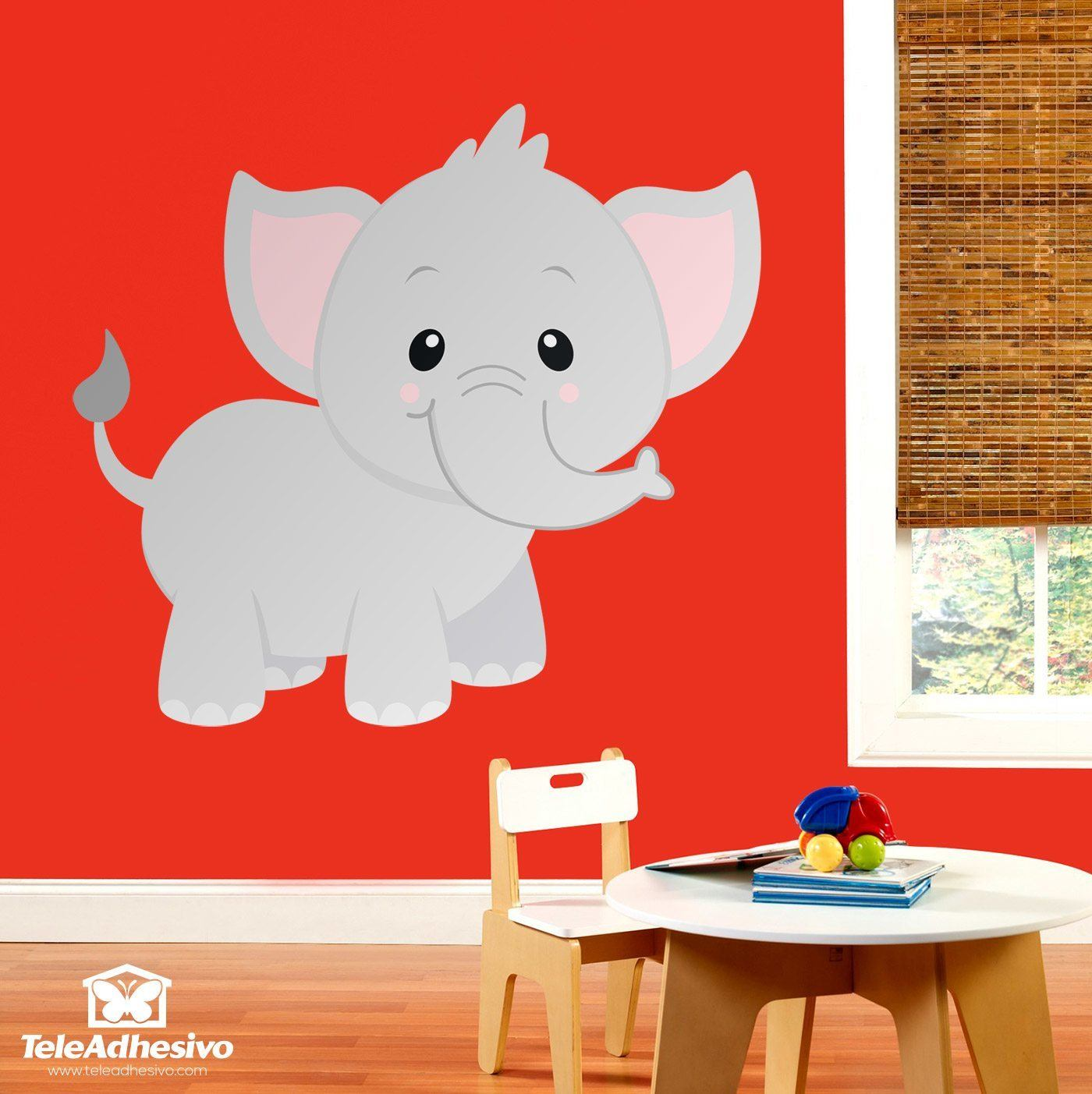 Kinderzimmer Wandtattoo Elefant Jumbo