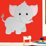 Kinderzimmer Wandtattoo: Elefant Jumbo 3