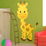 Kinderzimmer Wandtattoo: Giraffe Sophie 3