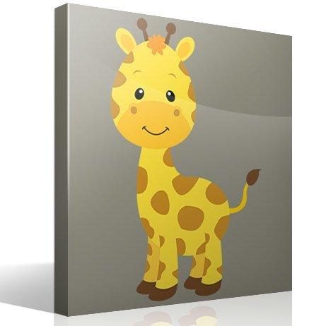 Kinderzimmer wandtattoo giraffe sophie - Kinderbilder wand ...
