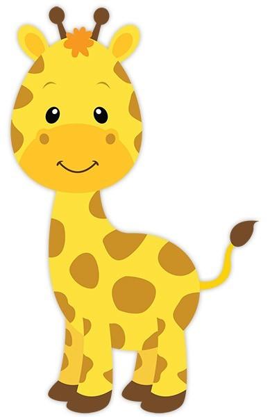 kinderzimmer wandtattoo giraffe sophie. Black Bedroom Furniture Sets. Home Design Ideas