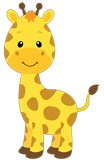 Kinderzimmer Wandtattoo: Giraffe Sophie 5
