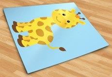 Kinderzimmer Wandtattoo: Giraffe Sophie 6