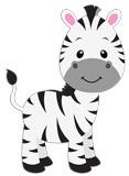 Kinderzimmer Wandtattoo: Zebra Zoe 5