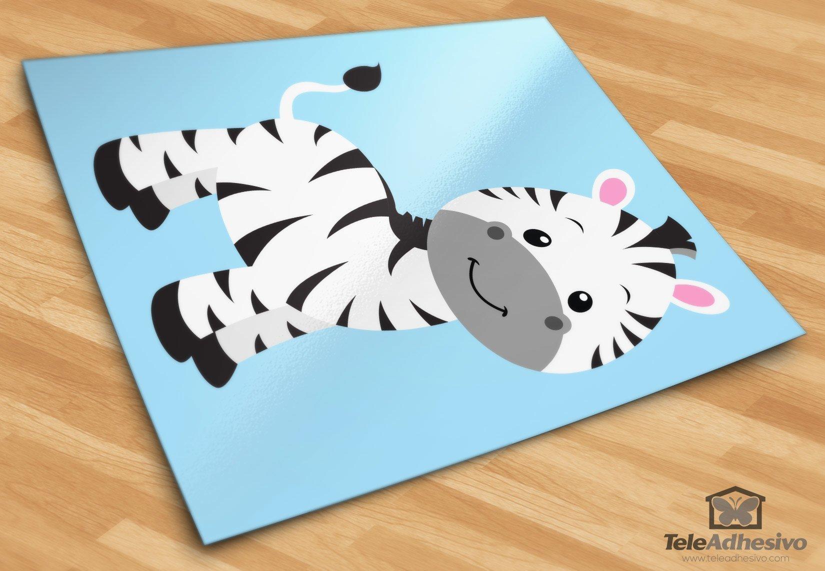 Kinderzimmer Wandtattoo Zebra Zoe
