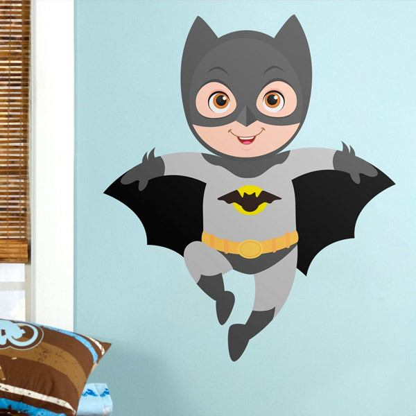 Kinderzimmer Wandtattoo: Batman fliegt