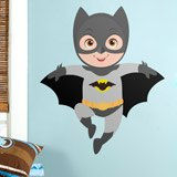 Kinderzimmer Wandtattoo: Batman Fliegen 3