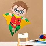 Kinderzimmer Wandtattoo: Robin Fliegen 3