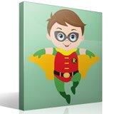 Kinderzimmer Wandtattoo: Robin Fliegen 4