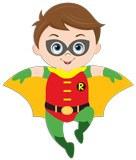 Kinderzimmer Wandtattoo: Robin Fliegen 5