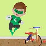 Kinderzimmer Wandtattoo: Green Lantern 3