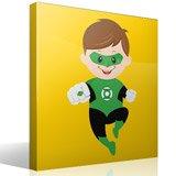 Kinderzimmer Wandtattoo: Green Lantern 4