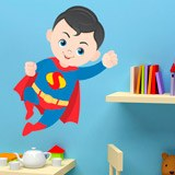 Kinderzimmer Wandtattoo: Superman Fliegen 3