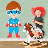 Kinderzimmer Wandtattoo: Captain America 3
