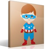 Kinderzimmer Wandtattoo: Captain America 4