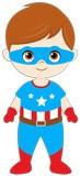 Kinderzimmer Wandtattoo: Captain America 5