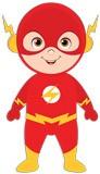 Kinderzimmer Wandtattoo: Flash Gordon 5