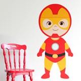 Kinderzimmer Wandtattoo: Ironman stehen 3