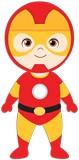 Kinderzimmer Wandtattoo: Ironman stehen 5
