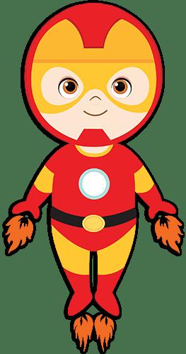 Kinderzimmer Wandtattoo: Ironman Fliegen