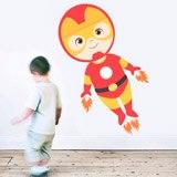 Kinderzimmer Wandtattoo: Ironman Fliegen 3