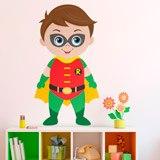 Kinderzimmer Wandtattoo: Robin stehen 3