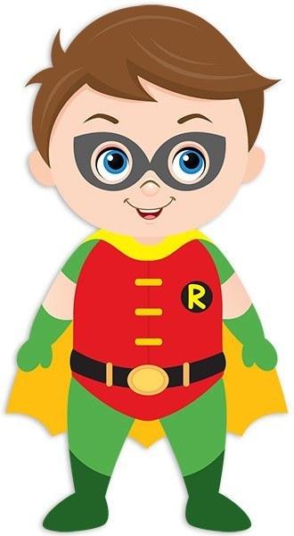 Kinderzimmer Wandtattoo: Robin stehen