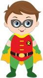 Kinderzimmer Wandtattoo: Robin stehen 5