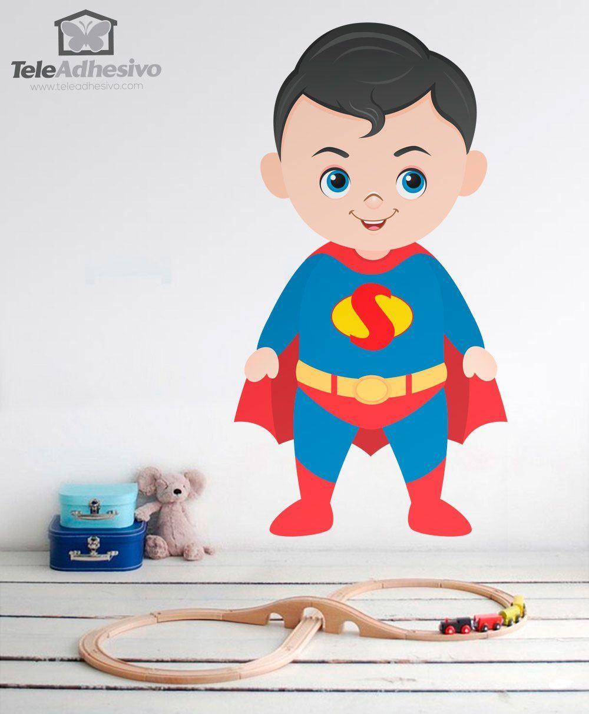Kinderzimmer Wandtattoo: Superman