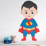 Kinderzimmer Wandtattoo: Superman 1