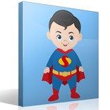 Kinderzimmer Wandtattoo: Superman 2