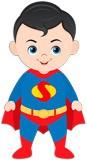 Kinderzimmer Wandtattoo: Superman 3